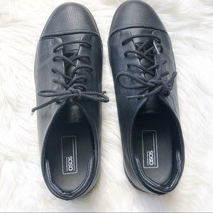 ASOS Mens Black Lace Up Sneakers 9